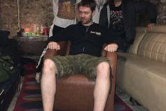 Hannes Grossmann with Comaniac