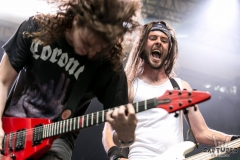 Ray and Vali raging at MetalDays 2016